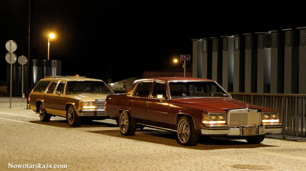 1982 Ford LTD Crown Victoria Country Squire 5.0 V8 & 1984 Cadillac Deville Gdańsk 7.10.2017